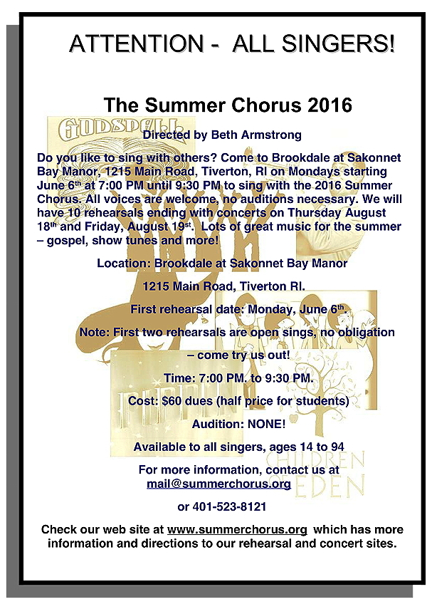 summer chorus flyer 2016 Rev D